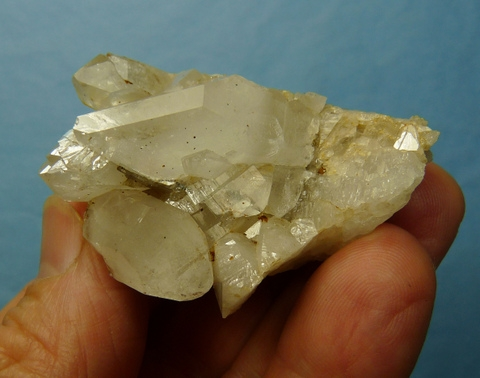 Quartz crystals on matrix