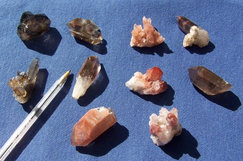 Ten Northern Cape crystals and groups
