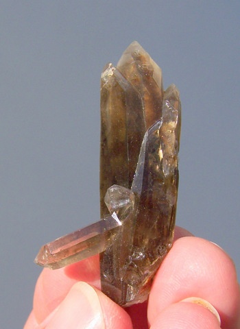 Smoky Quartz Crystal Group - Steinkopf, Northern Cape, South Africa