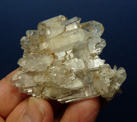 Beautiful,double terminated, fascinating quartz crystal specimen