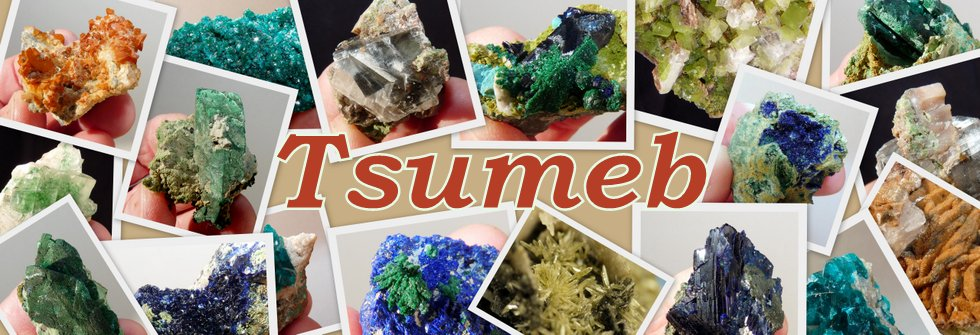 Tsumeb (Namibia) mineral specimens and crystals