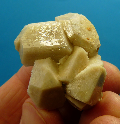 Feldspar crystal group
